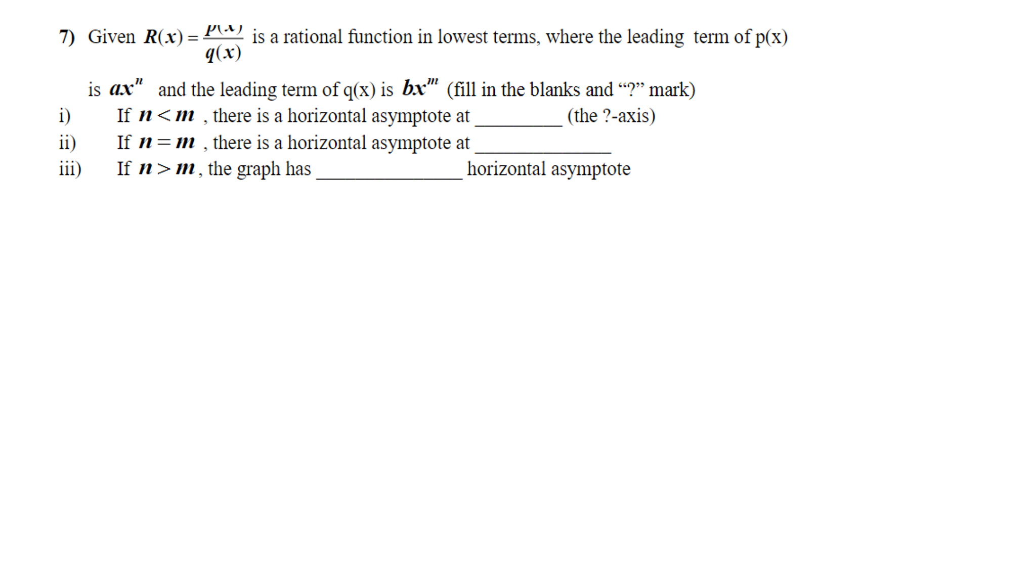 solved given r x p x q x is a rational function in l