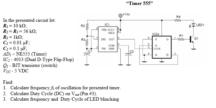 Solved: In The Presented Circuit Let: R_1 = 10 K Ohm