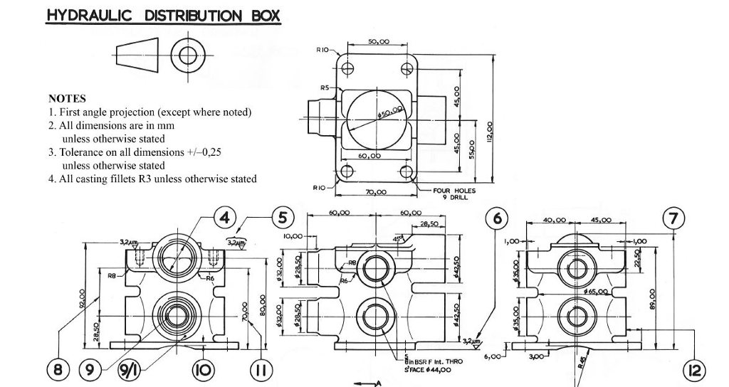 Technical Drawing Questions And Answers