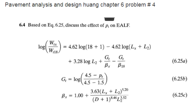 pavement analysis and design huang chapter 6 probl chegg com rh chegg com pavement analysis and design 2nd edition solution manual pavement analysis and design solution manual free download