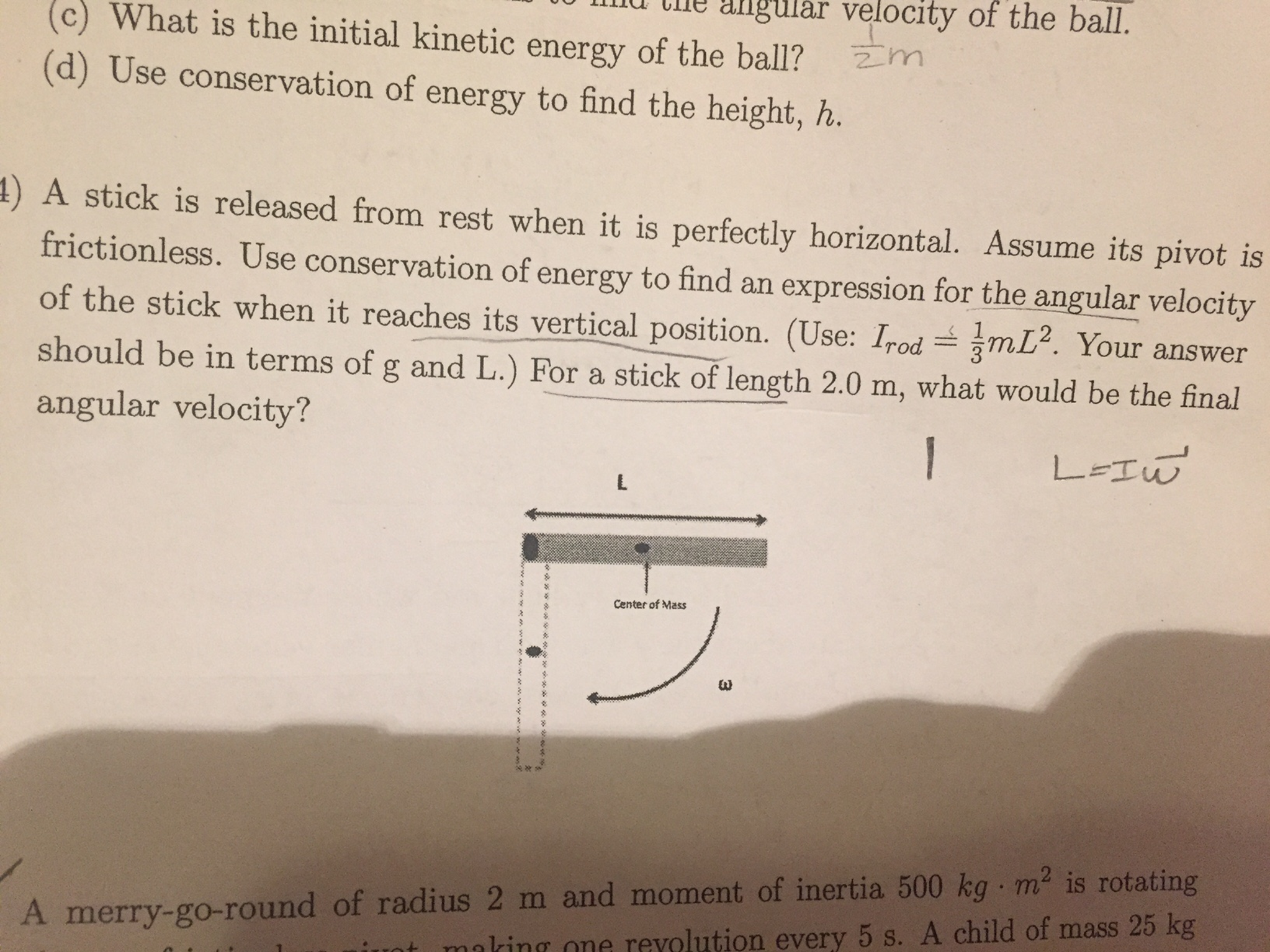 What Is The Initial Kinetic Energy Of The Ball? Us