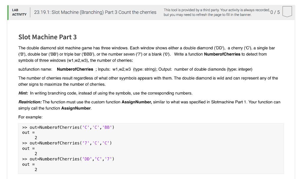 Solved: I Don\'t Know How To Do This Problem For Matlab. Th ...