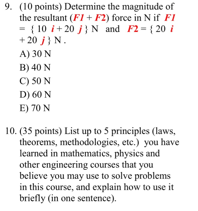 Solved: Determine The Magnitude Of The Resultant (F1 + F2