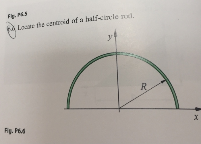 Find The Centroid Of A Ring Segment