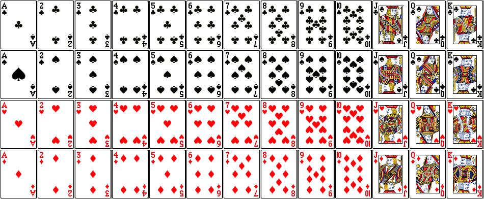 Solved: Blackjack: Create A Deck Of Cards As An Array Of N