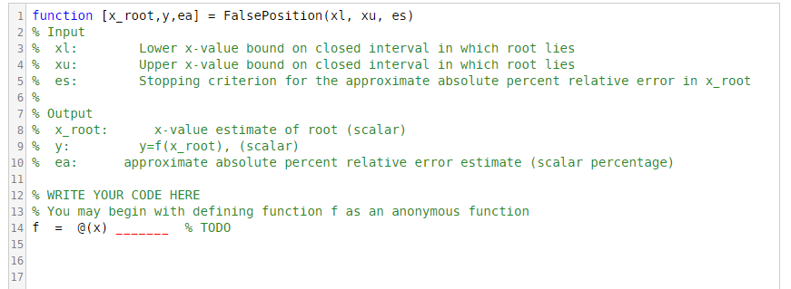 Solved: Plot The Following Function In MATLAB: Y = F(x