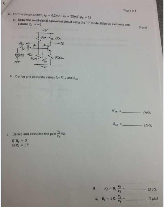 Text Solve For The Value Of V0 In The Circuit Assume That The Opamp