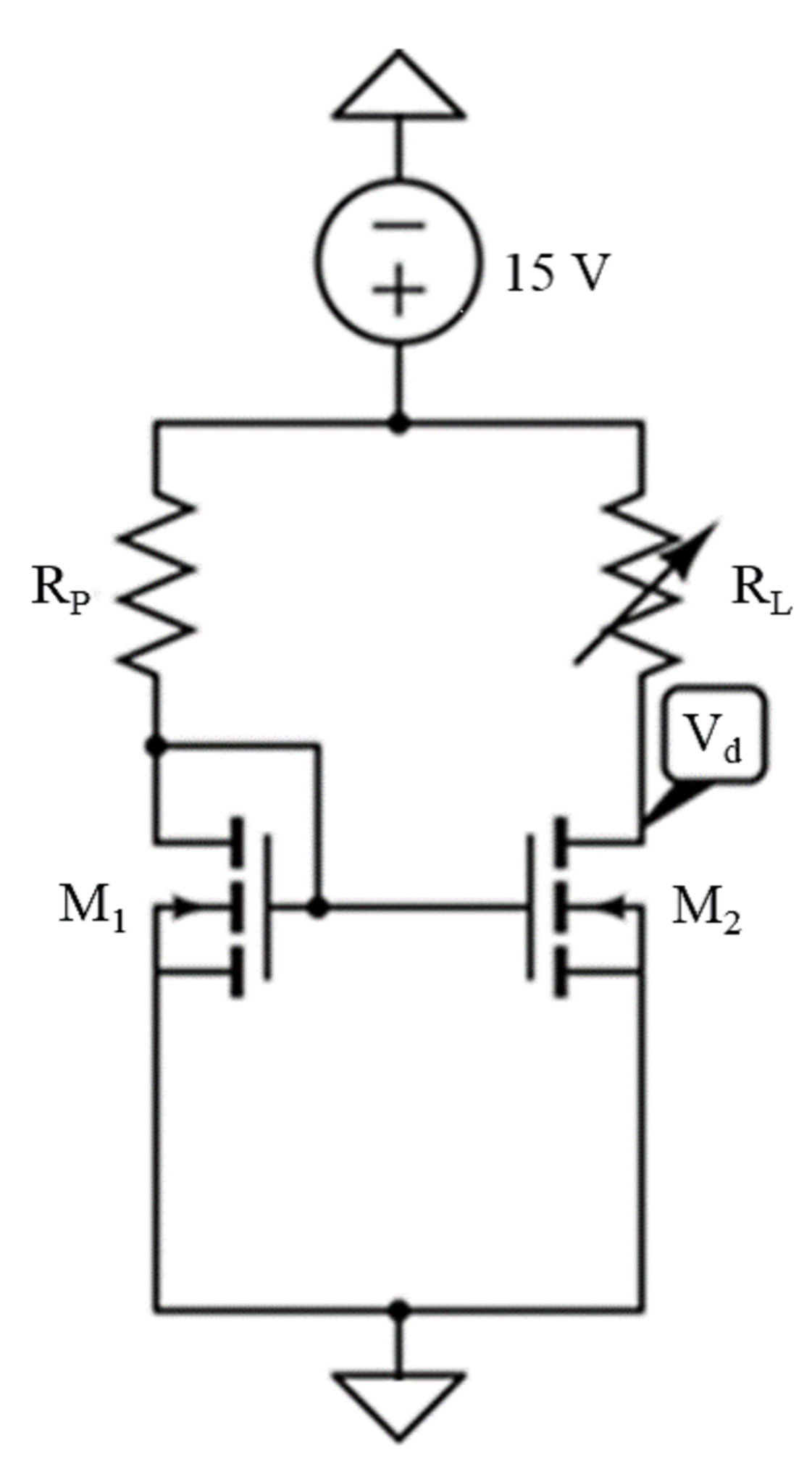 Solved In Figure 55 You Are To Investigate A Two Nmos Tr Mosfet Transistor Circuit