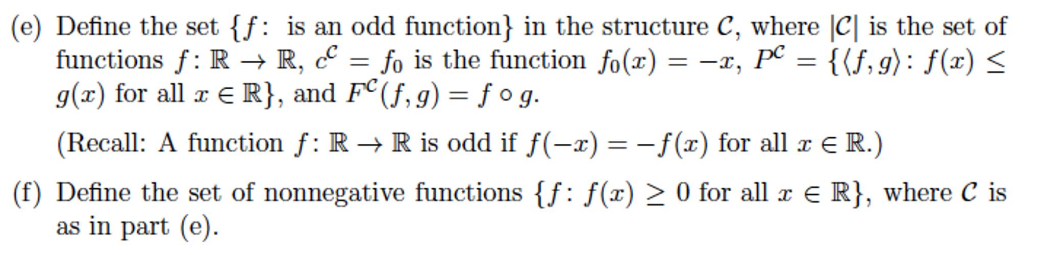 Let L C P F Where C Is A Constant Symbol P Chegg