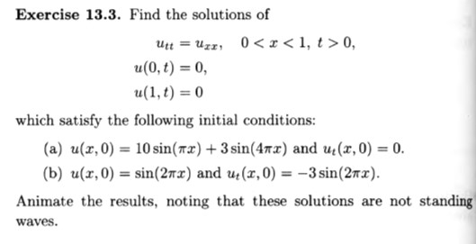 Solved: (Partial Differential Equation) - Intro To The Mat