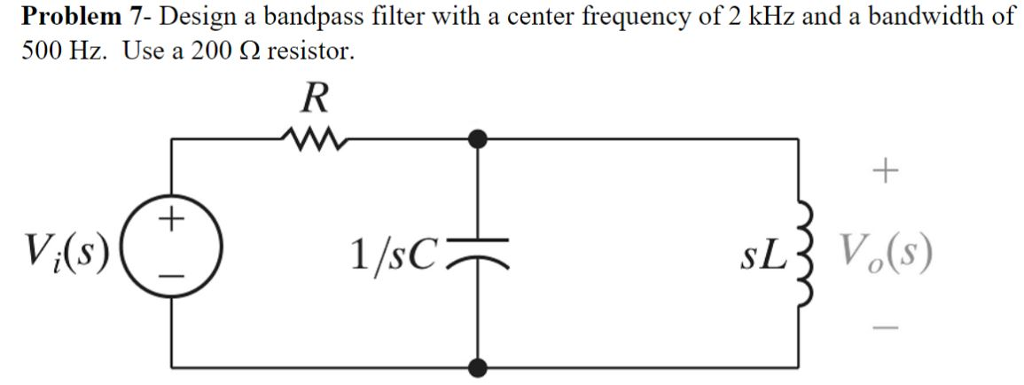bandpass filter
