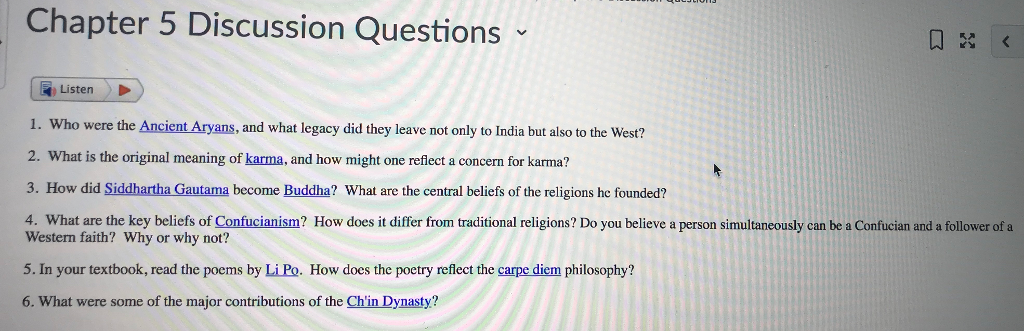 buddhism and discussion questions Esl conversation lesson questions: free classroom handouts english lesson on buddhism use for debates, discussions, speaking, conversations, independent learning and more.