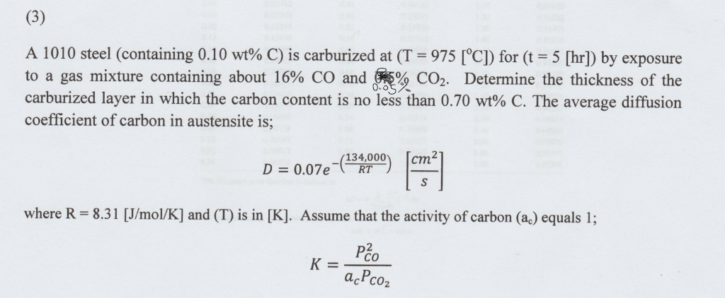 A Material Science Question, Can Anyone Help? Than    | Chegg com