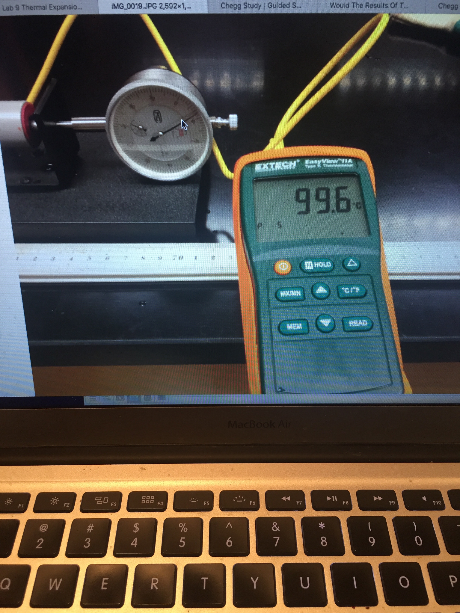Solved: If The Length Of Each Bar And The Micrometer Readi