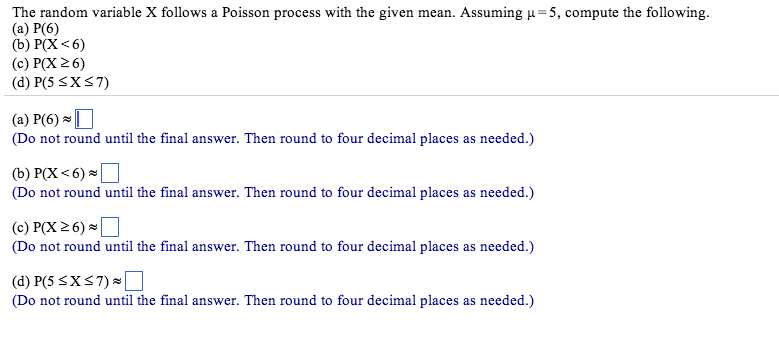poisson process homework solutions