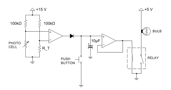 Solved: The Overall Purpose Of This Circuit Is To Turn On ...