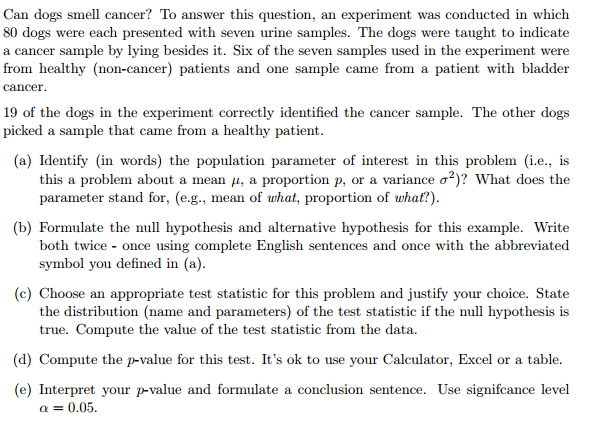 Statistics example questions and answers