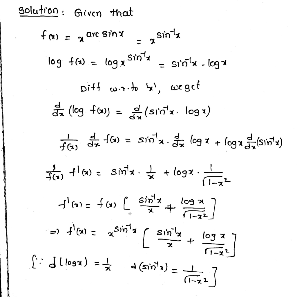 Solutron Given that al Sin Ci)