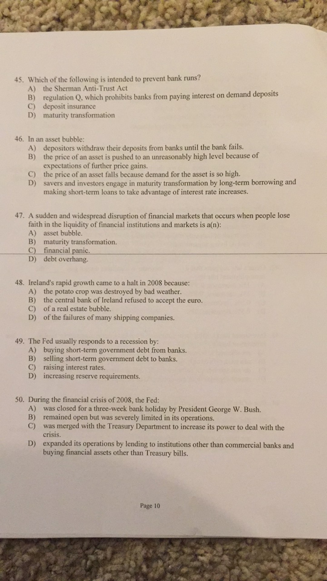 cris question paper