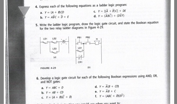 Solved: Express Each Of The Following Equations As A Ladde