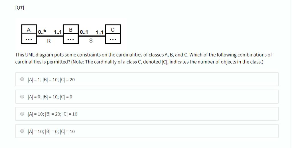 media%2F94c%2F94c09fc5 6453 4161 9e2b 678564abad89%2FphpwTq31p solved [q7] 11 b0 b0 1 1 1 this uml diagram puts some con