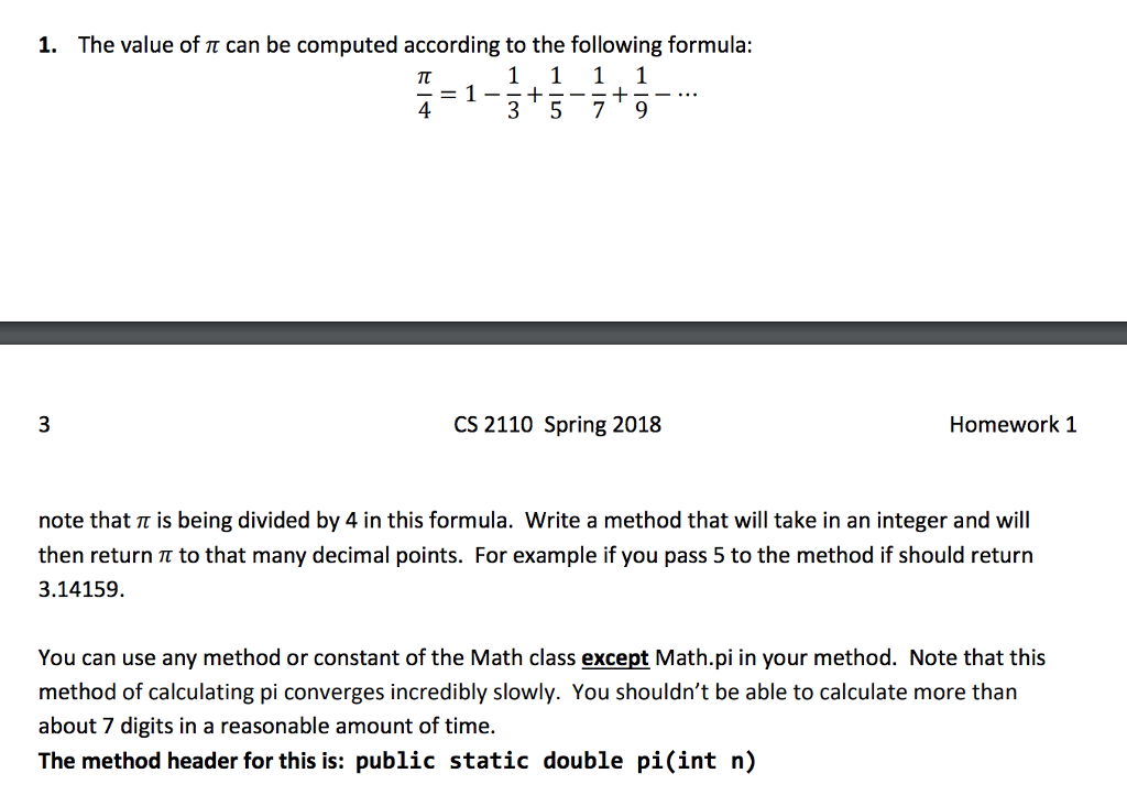 Solved: CAn Someone Help Me With This Java Problem USING T