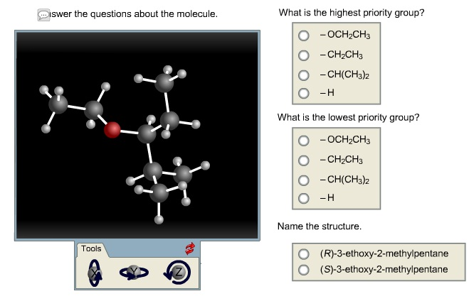 Used College Textbooks >> Solved: Lswer The Questions About The Molecule Tools What ...