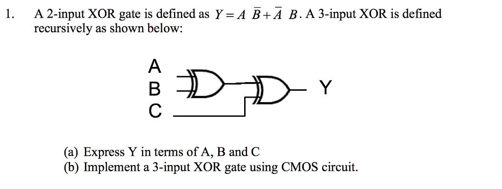 how to make xor gate