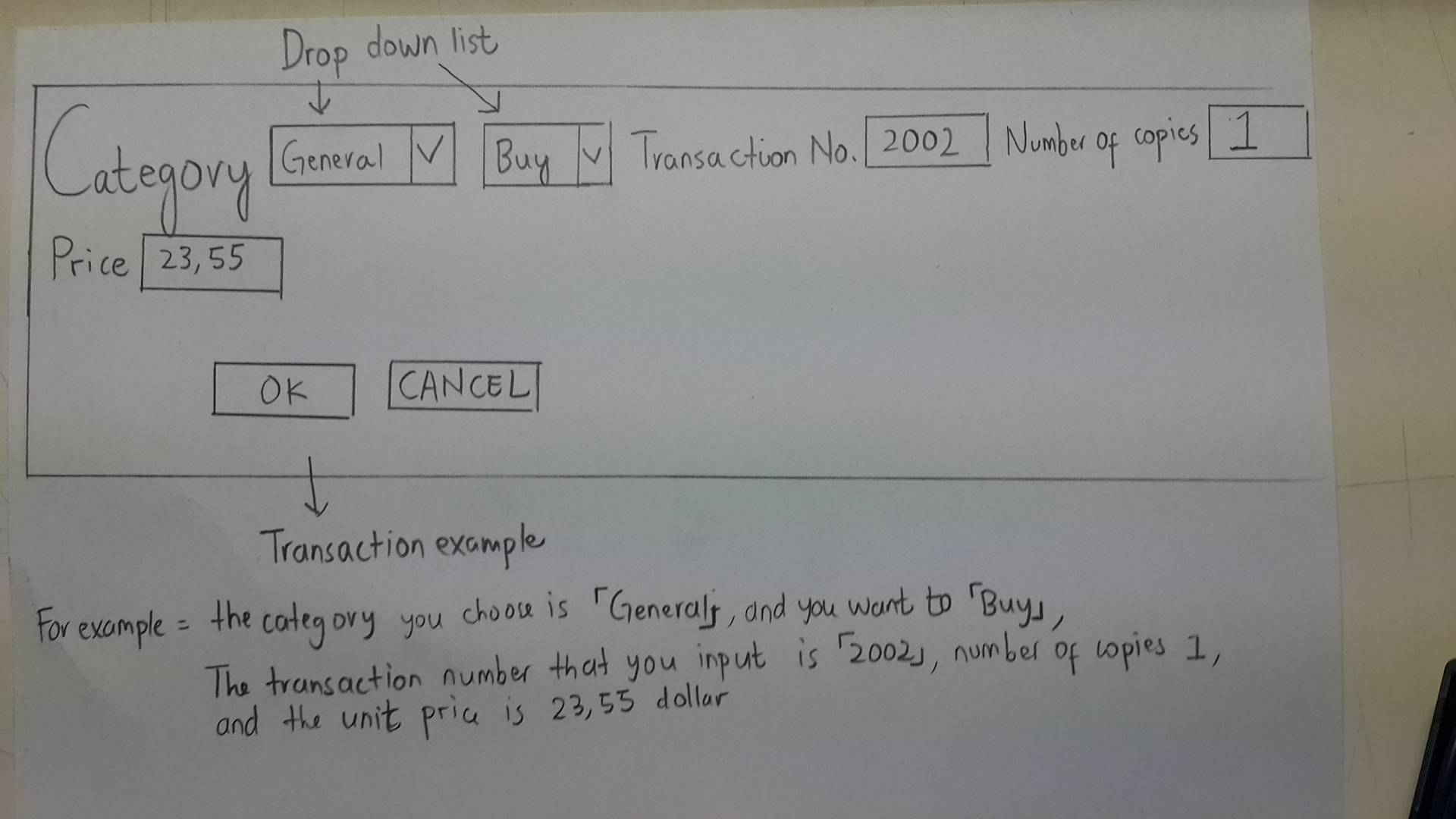 Solved Draw The Class Diagram And Sequence With T How To Transaction Example Drop Down List Categovy Lgeu Rice 23 55 Transacion No 2002 N Opis Ok