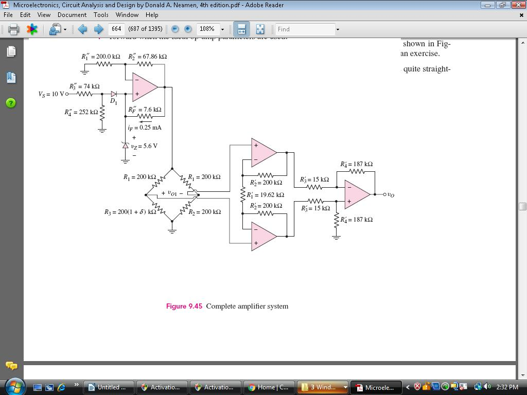 Solved How Do I Wire This On A Breadboad Using An Quad Op Amp Wiring Question