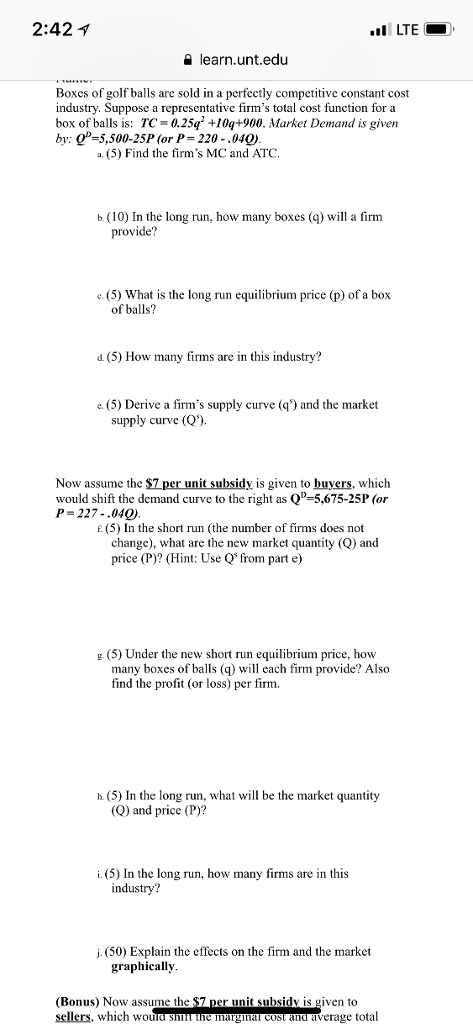 Solved Step By Step Instructions For The Bonus Question A
