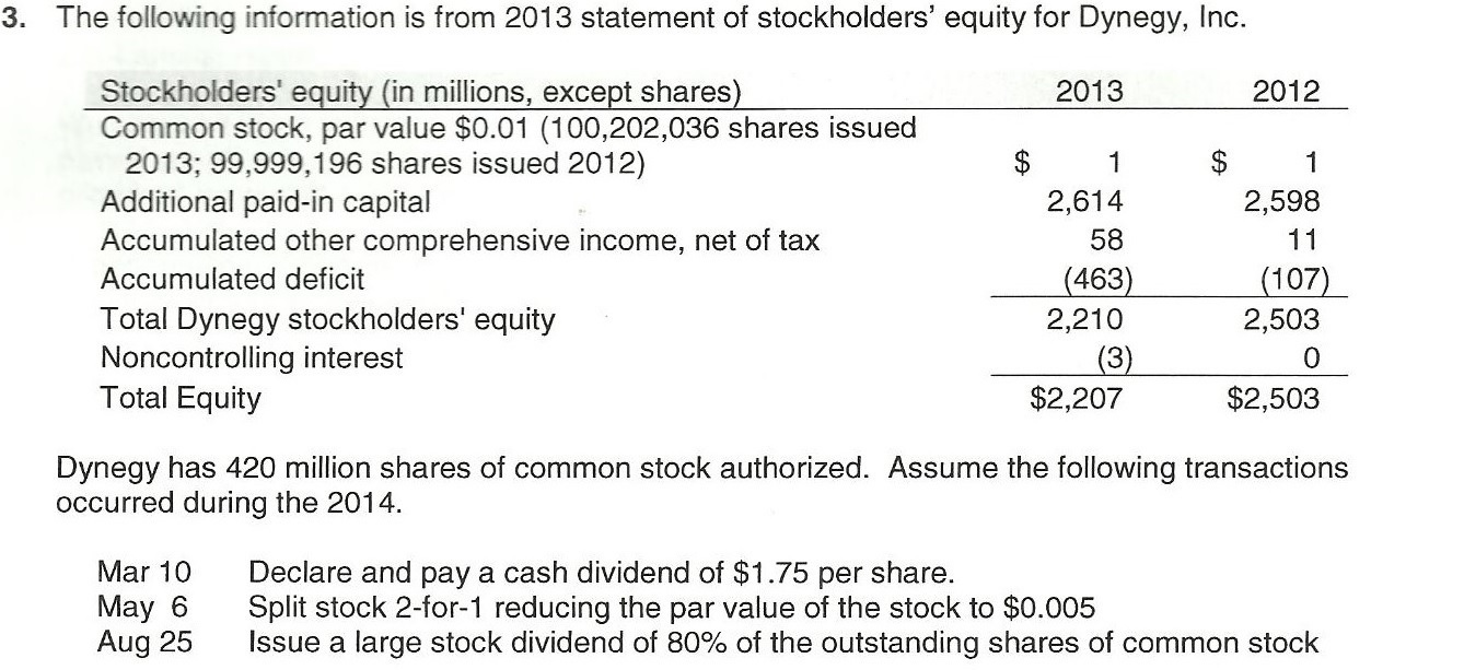 Solved: Required: A. Use A Financial Statement Effects Tem ...