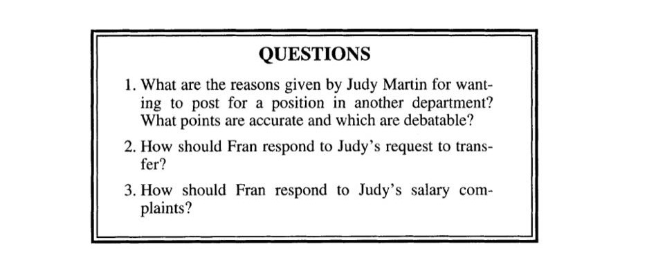 Solved: How Come They Make More Than Me? Fran Jefferson Be