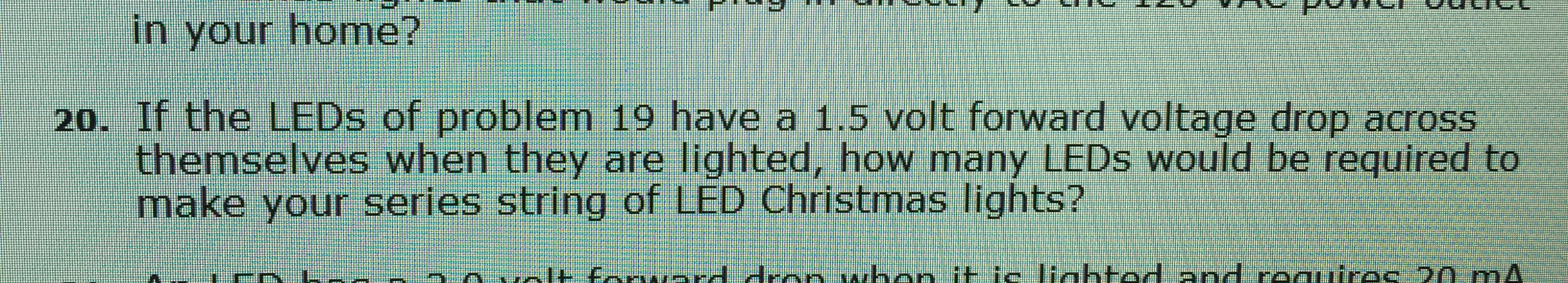 Solved A Series String Of Christmas Lights Has 24 Bulbs I