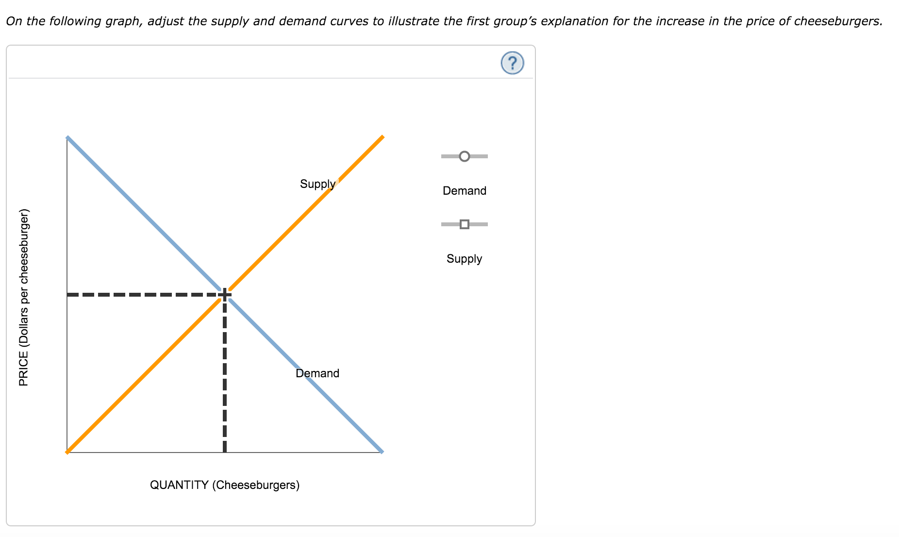 a leftward shift in the supply curve of product x will increase equilibrium price to a greater exten