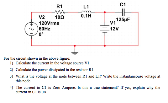 solved for the circuit shown in the above figure 1 calc rh chegg com