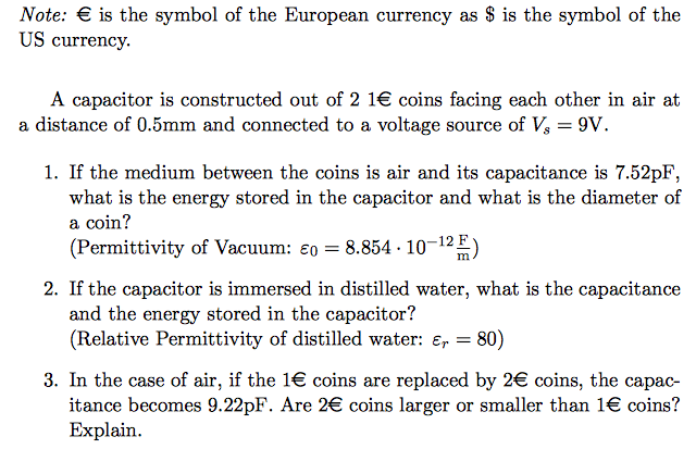Solved Note Euro Is The Symbol Of The European Currency