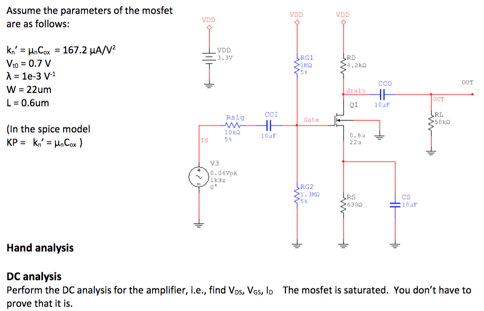 Mosfet Spice Model
