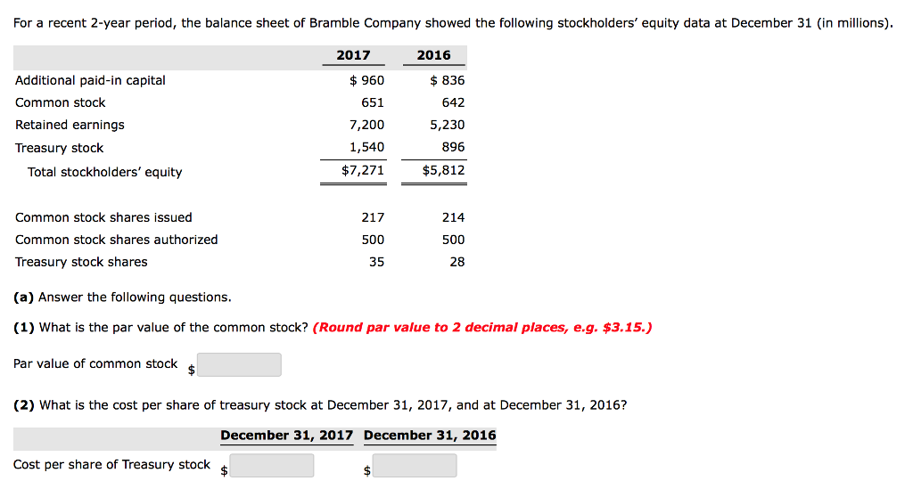 Solved: For A Recent 2-year Period, The Balance Sheet Of B
