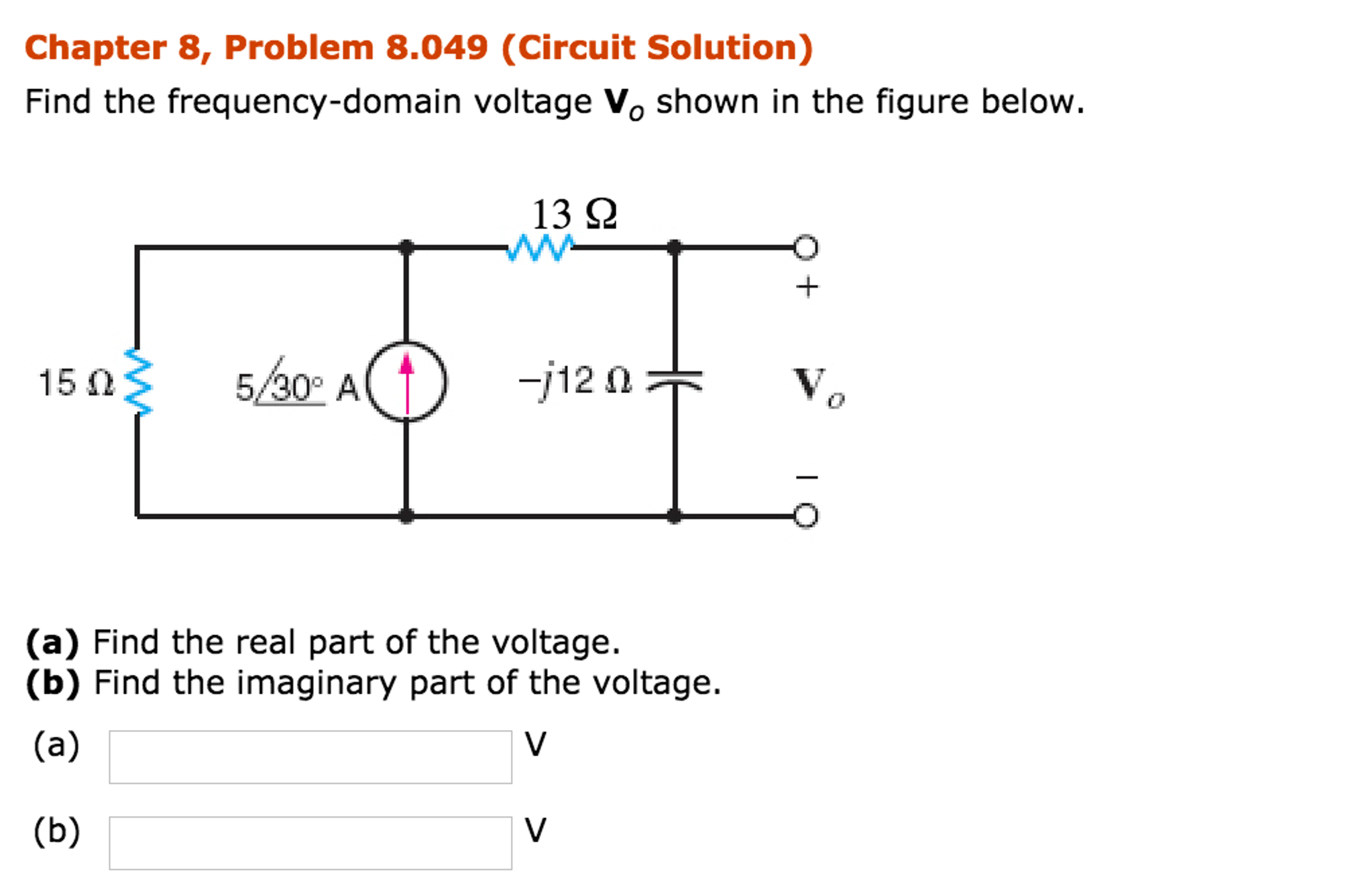 Electrical engineering archive november 20 2016 chegg chapter 8 problem 8012 find the impedance z shown in the figure below at a frequency of 400 hz 10 mh 2 n 10 ohm 10 hf t j fandeluxe Image collections