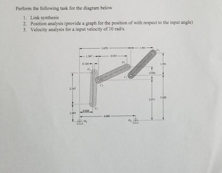 Perform the following task for the diagram below 1 chegg perform the following task for the diagram below 1 link synthesis 2 position analysis ccuart Choice Image