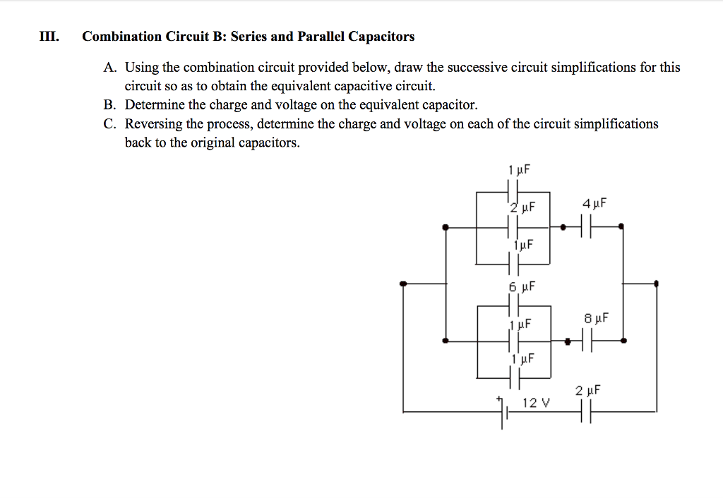 parallel and series combination circuits