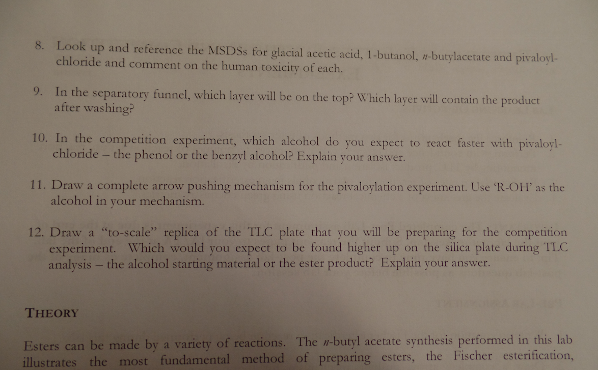 Please answer question 3 and 4 of the pre-lab. Thank you. Help me. all the info you need is contained here