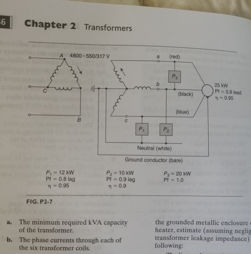 solved figure p2 7 shows a three phase five wire 3 4 5 rh chegg com