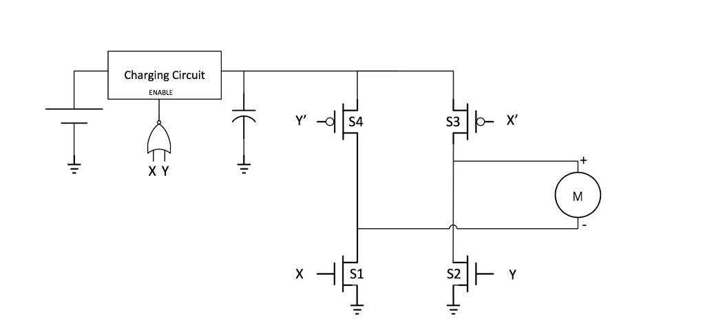 Dc Motor Forward Reverse Circuit