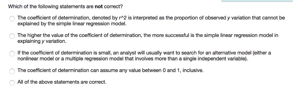 single linear regression