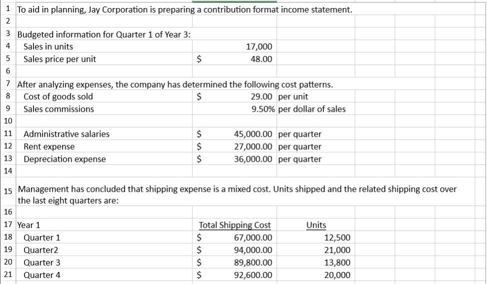 contribution format income statement ecza productoseb co
