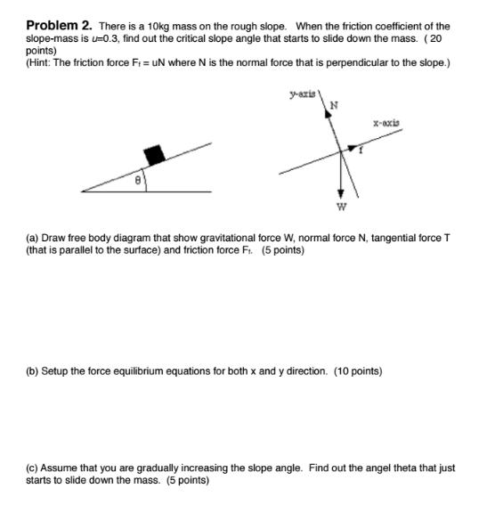 solved a draw free body diagram that show gravitational rh chegg com