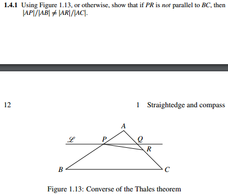 solved the question is from the four pillars of geometry rh chegg com