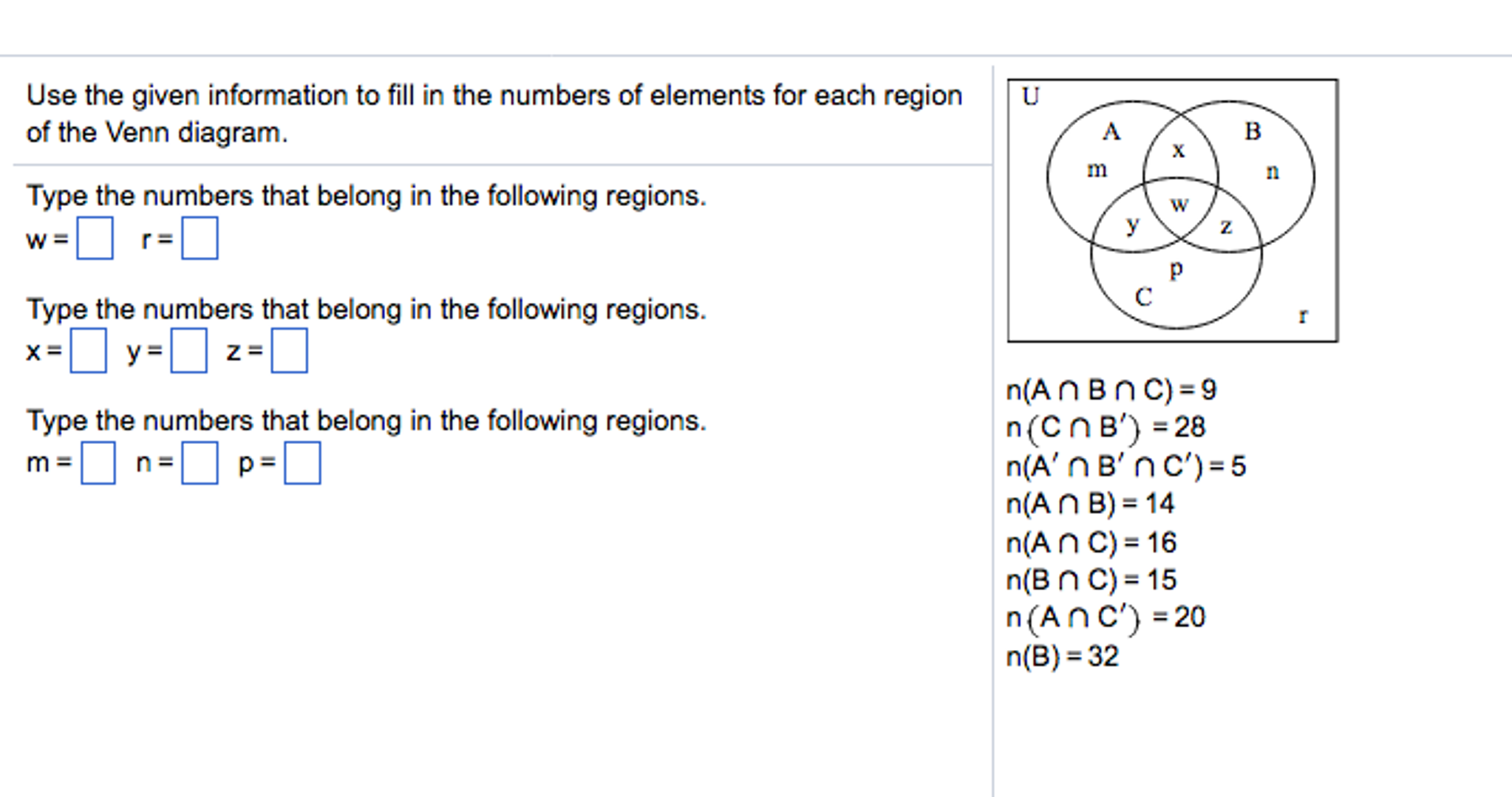 Use the given information to fill in the numbers o chegg use the given information to fill in the numbers o pooptronica